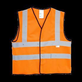 เสื้อกั๊กสะท้อนแสง 3M สีส้ม ไซต์ M