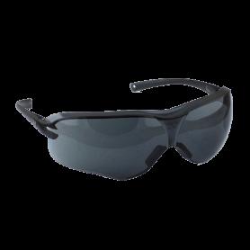 แว่นนิรภัย รุ่น Asian Fit 10435 เลนส์สีดำ กรอบสีดำ
