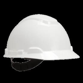 หมวกนิรภัย รุ่น H-701R-W สีขาว แบบปรับหมุน