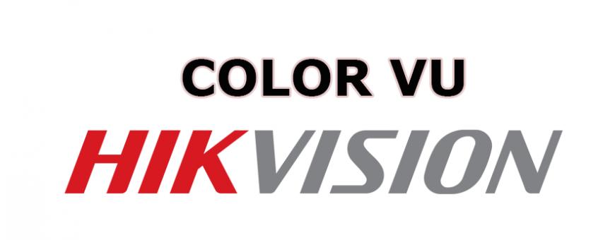 กล้องวงจรปิด Hikvision ColorVu สามารถถ่ายภาพสีได้ทั้งกลางวันและกลางคืน ให้ภาพสีตลอด 24 ชั่วโมง
