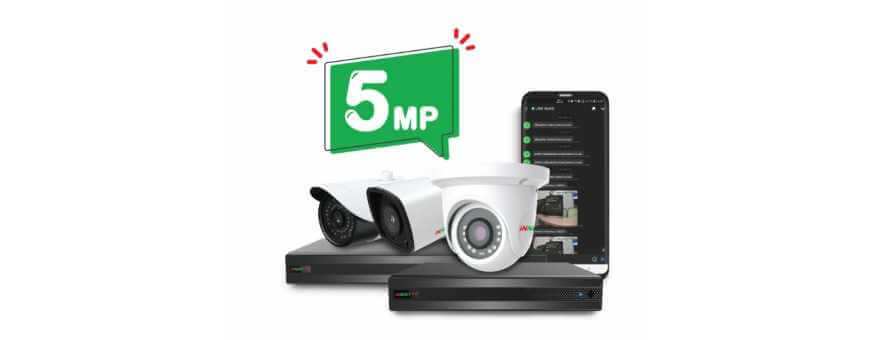 กล้องวงจรปิด INNEKT PLUS ความละเอียด 5Megapixel รองรับ AHD/TVI/CVI/CVB